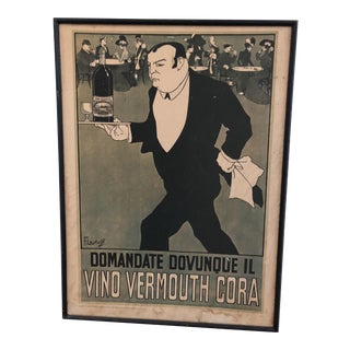 Vermouth Wine Franz Laskoff Advertising For Sale