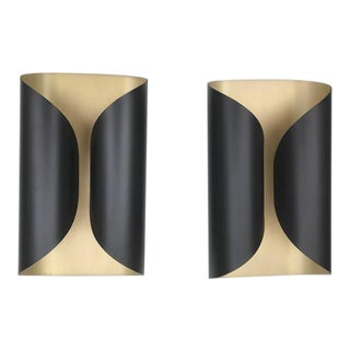 Holly Hunt Ombre Sconces - A Pair