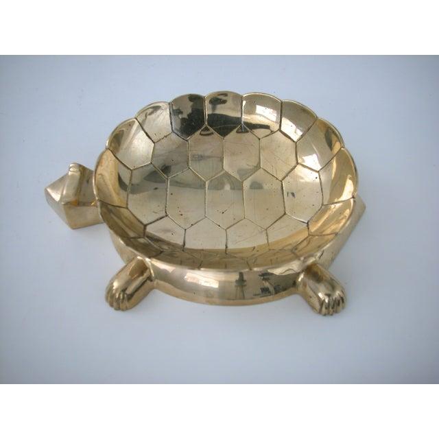 Vintage Brass Turtle Bowl - Image 6 of 8