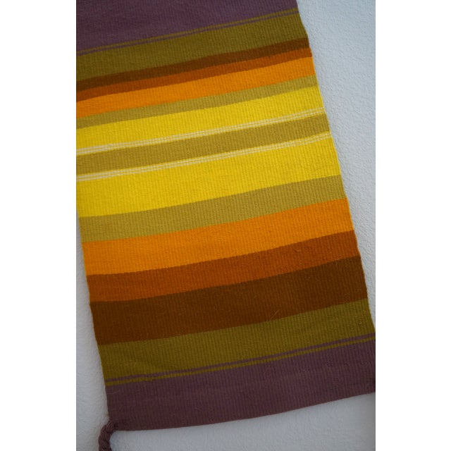 Mid-Century Handwoven Wall Hanging - Image 5 of 6