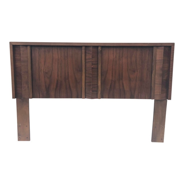 Mid-Century Modern Queen Size Bed Headboard For Sale