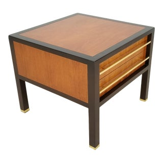 Michael Taylor for Baker Mid-Century Modern Side Table For Sale