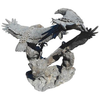 Bronze Eagle Fountain For Sale