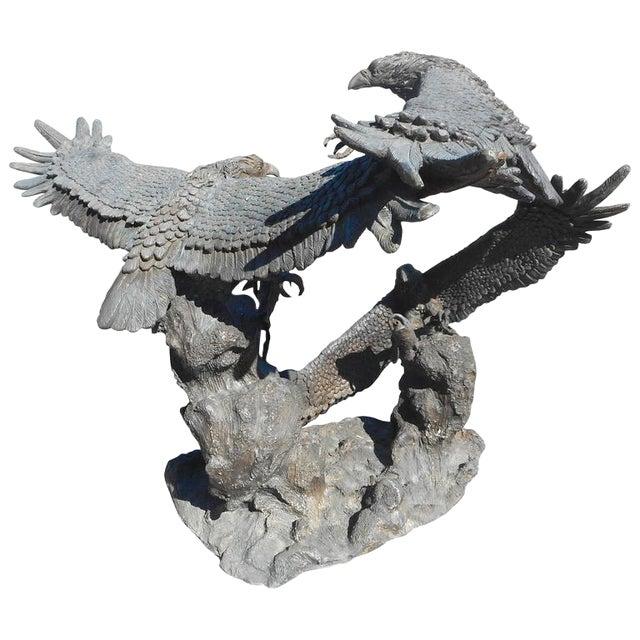 Bronze Eagle Fountain - Image 1 of 6
