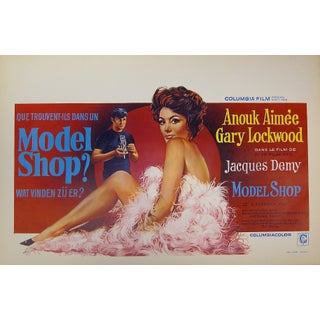 """Model Shop"" Belgian Film Poster For Sale"