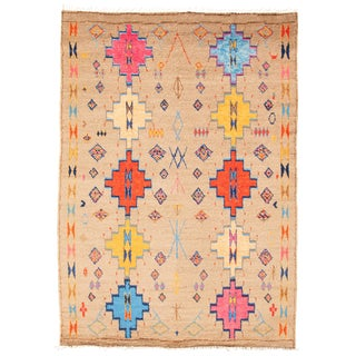 """Moroccan-Style Hand-Knotted Rug-8'10"""" X 12'3"""" For Sale"""
