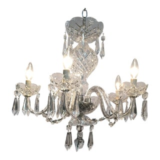 1980s Traditional Waterford Chandelier For Sale