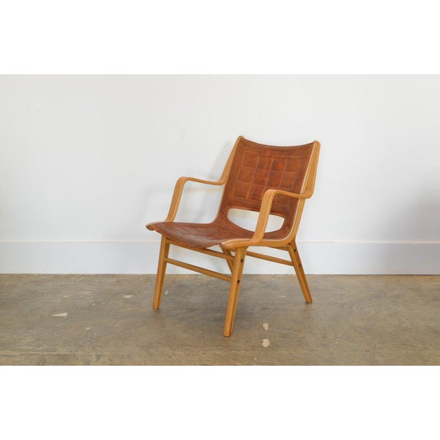 1940s Ax Lounge Chair by Peter Hvidt & Orly Mølgaard-Nielsen, 1947 For Sale - Image 5 of 8