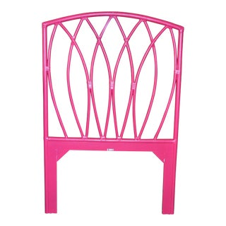 David Francis Furniture Royal Palm Hibiscus Pink Twin Headboard