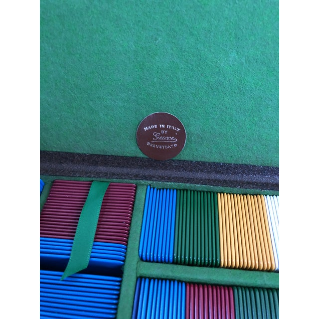 Gucci Vintage Gucci Travel Gaming Set For Sale - Image 4 of 6