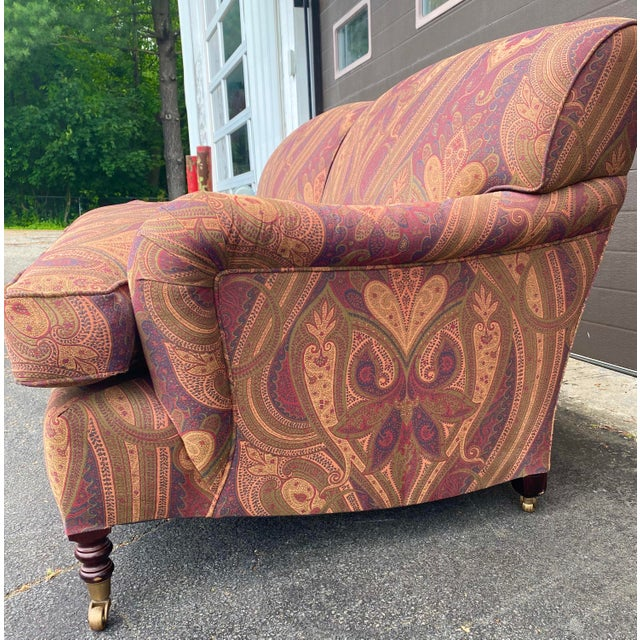 George Smith Standard Arm Sofa For Sale In New York - Image 6 of 7