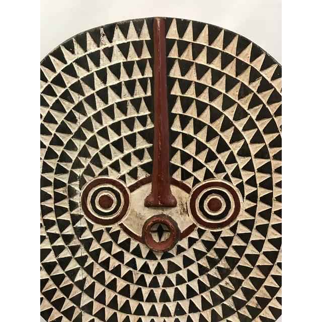 African Tribal Art Large Plank Bwa Mask - Image 5 of 6
