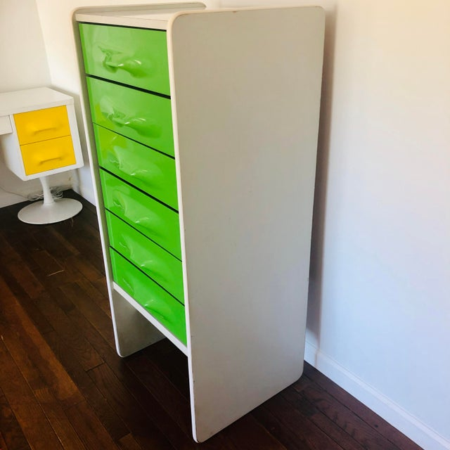1970s 1970s Space Age Modern Treco Highboy By Giovanni Maur For Sale - Image 5 of 6