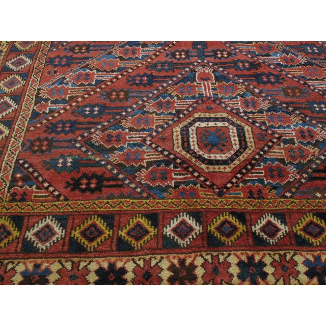 Late 19th Century Antique Beshir Turkmen Rug For Sale - Image 5 of 8