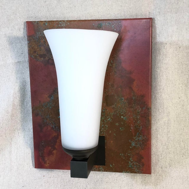 Bronze Hubbardton Forge Reflections 1-Light Sconce Wall Light For Sale - Image 8 of 8
