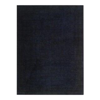 "Overdyed Ayako Blue Wool Rug - 9'8"" x 13'4"""