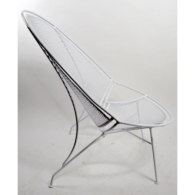 John Salterini Tempestini for Salterini High Back Lounge With Footrest For Sale - Image 4 of 9