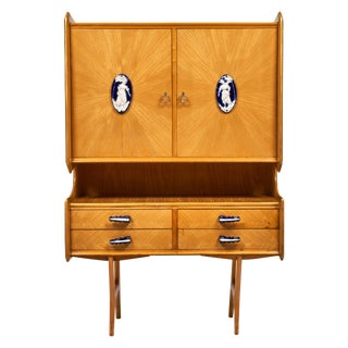 Italian Vintage Cabinet For Sale