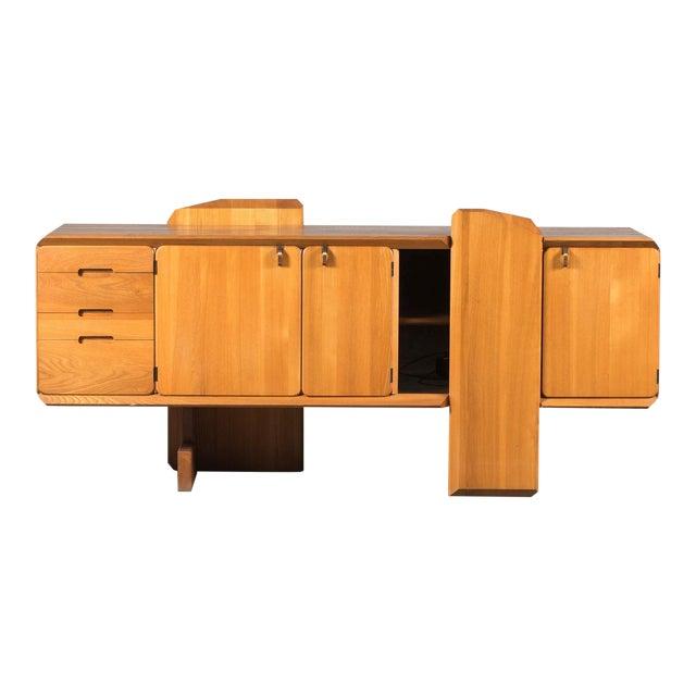 """Pierre Chapo """"R28"""" Elm Sideboard For Sale"""