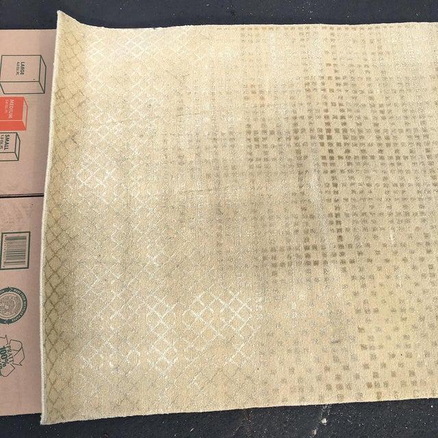 Beige Persian Wool Runner - 3′ × 30′ - Image 4 of 10