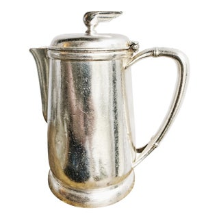 1947 Silver Plated Southern Railway Tea Pot For Sale