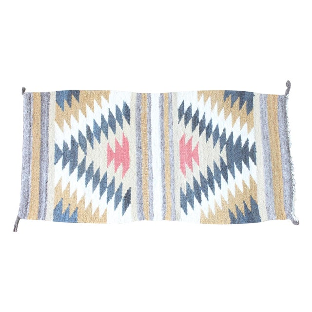 "Tribal Wool Accent Rug - 1'7"" X 3'3"" - Image 1 of 3"