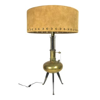 1950s Mid-Century Stiffel Brass Lamp For Sale