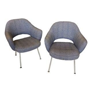 Eero Saarinen Executives Armchairs by Knoll For Sale