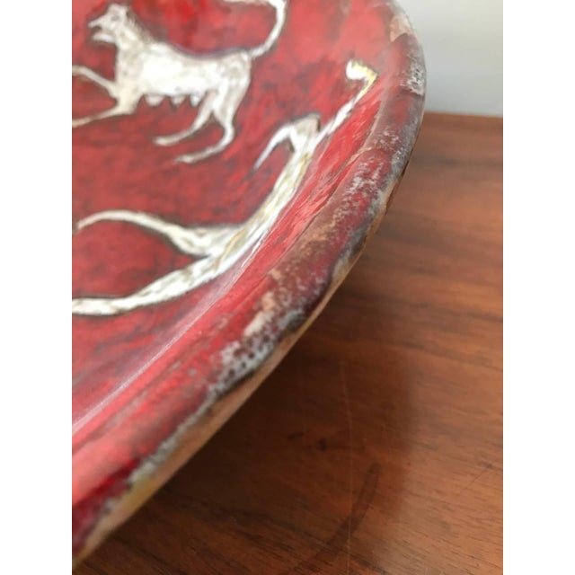 Eugenio Pattarino Ceramic Charger For Sale - Image 9 of 10