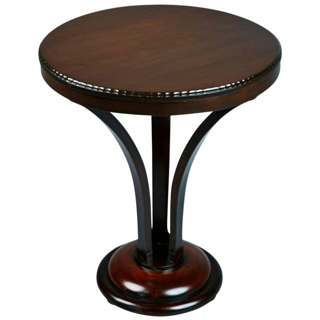 1930s John Graz Imbuia Wood Cocktail / Side Table, Brazil For Sale