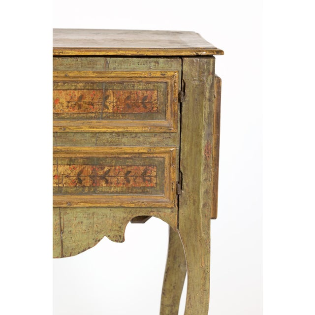 A Painted Italian Commode, Circa 1720. For Sale - Image 12 of 13