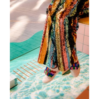 """""""Rainbow Sequins"""" Contemporary Special Pride Edition Photograph Print For Sale"""