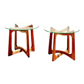1960s Danish Modern Adrian Pearsall Ribbon Tables - a Pair For Sale