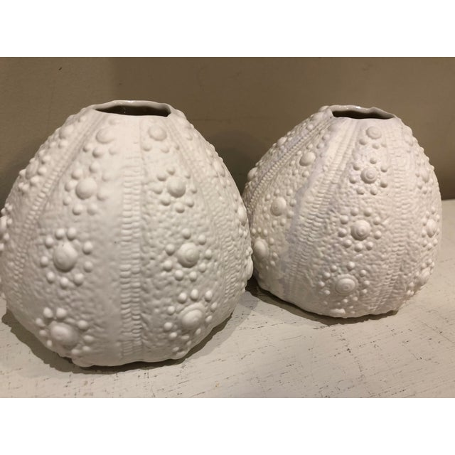 Sea Urchin Vases A Pair Chairish