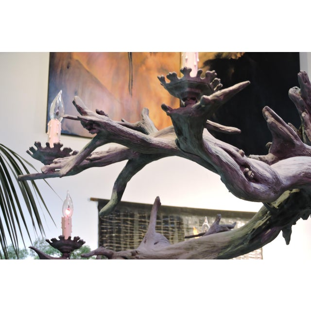Bronze Driftwood Manzanita Chandelier - Image 3 of 6