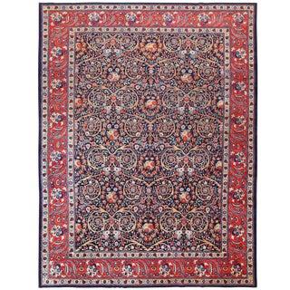 Antique Persian Tabriz Carpet - 11′ × 14′4″ For Sale