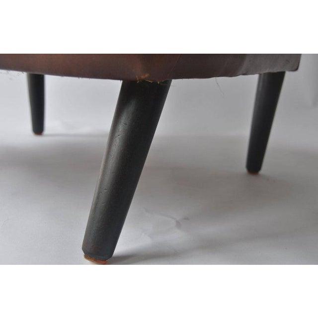 High Back Danish Lounge Chair - Image 7 of 7