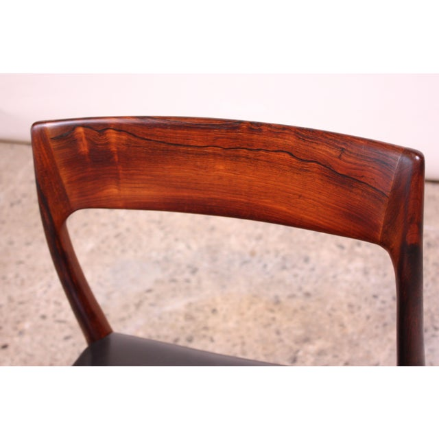 Set of Six Rosewood #77 Dining Chairs by Niels O. Møller - Image 4 of 11