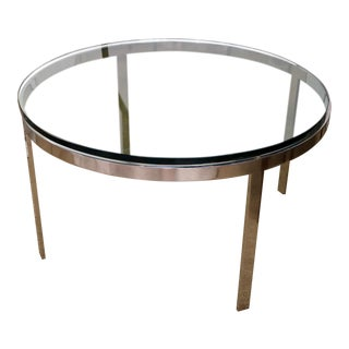 Vintage Milo Baughman Coffee Table For Sale