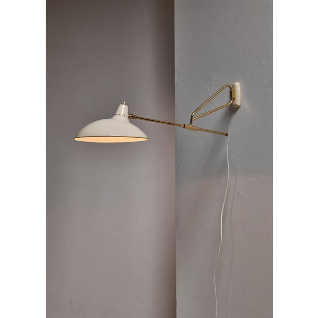 1950s Kaiser Model 6777 Swiveling Wall Lamp, Germany For Sale - Image 5 of 5