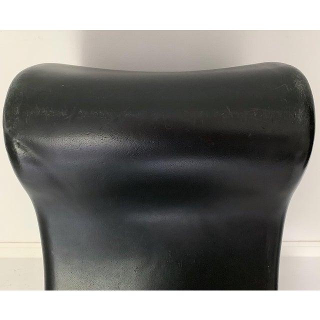 1990s Vintage Verner Panton Black Phantom Chair For Sale - Image 9 of 11