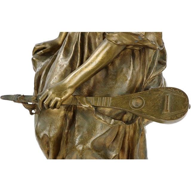 Paul Eugéne Mengin Bronze Sculpture - Image 7 of 10