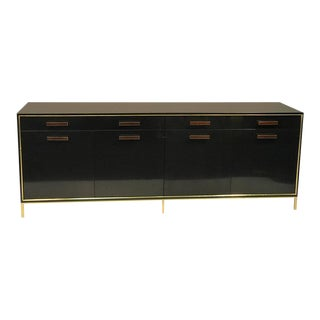 Brass Trim Harvey Probber Sideboard