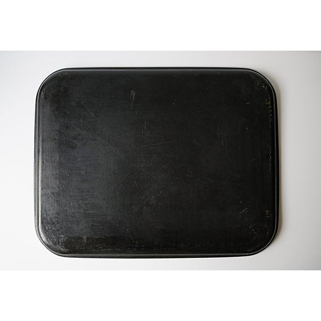 Chinorisie Lacquer Tray For Sale - Image 4 of 7