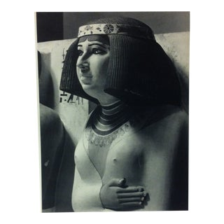 """Circa 1970 """"Nofret"""" IV Dynasty Great Sculpture of Ancient Egypt Print For Sale"""