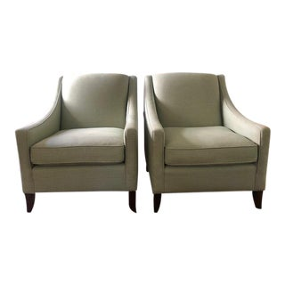 "Kravet ""Laurel"" Chairs - a Pair For Sale"