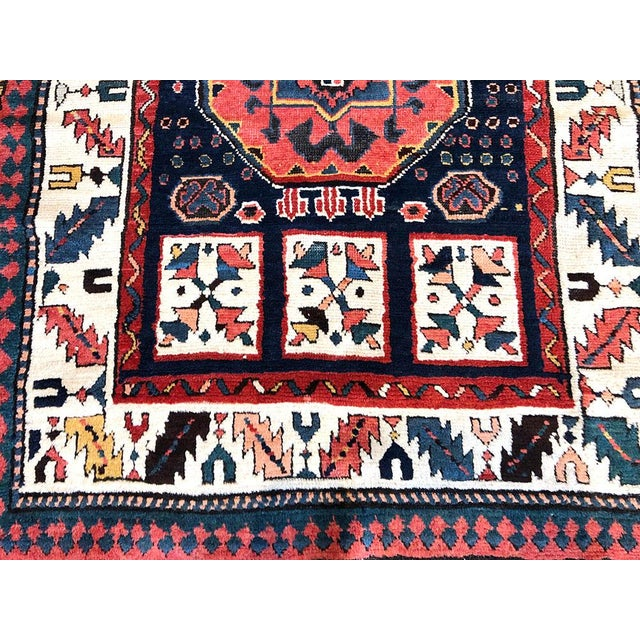Just look at this beautiful absolutely decorative Persian Bakhtiari runner. It was made back in 1910 and still is in very...