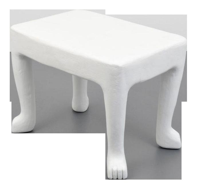 Sophisticated John Dickinson, Usa, Square U201cAfricanu201d Plaster End Table,  1976 1980 | DECASO