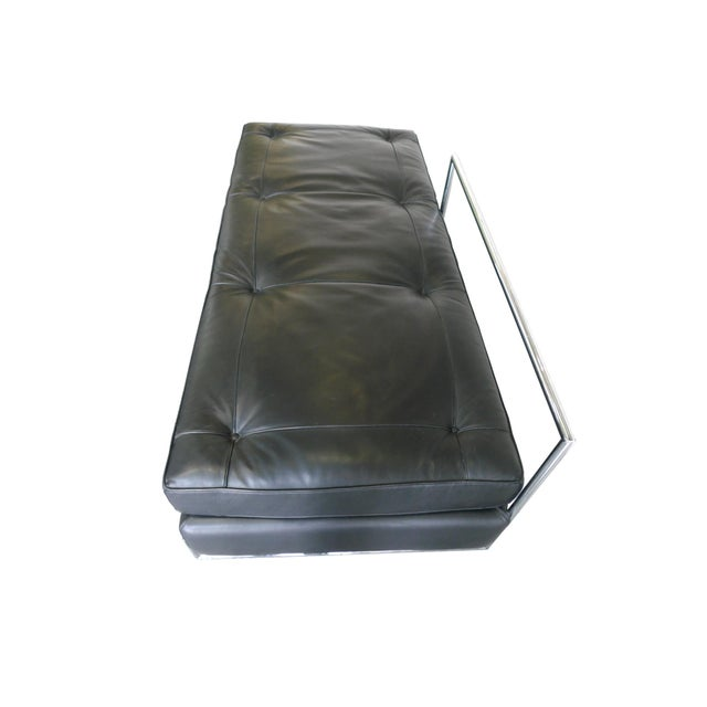 Eileen Gray Chrome and Leather Daybed - Image 3 of 8