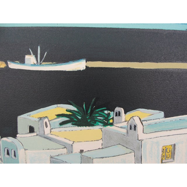 Mediterranean Cityscape Print - Image 6 of 8